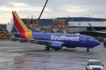 kenzy201さんが、シアトル タコマ国際空港で撮影したサウスウェスト航空 737-7H4の航空フォト(飛行機 写真・画像)