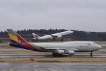 m_aereo_iさんが、成田国際空港で撮影したアシアナ航空 747-419(BDSF)の航空フォト(飛行機 写真・画像)
