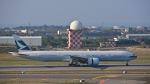 オキシドールさんが、台湾桃園国際空港で撮影したキャセイパシフィック航空 777-367/ERの航空フォト(飛行機 写真・画像)