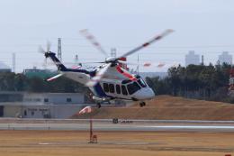 kaz787さんが、伊丹空港で撮影したオールニッポンヘリコプター AW139の航空フォト(飛行機 写真・画像)