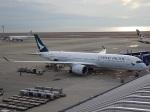 ukokkeiさんが、中部国際空港で撮影したキャセイパシフィック航空 A350-941XWBの航空フォト(飛行機 写真・画像)