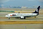 まいけるさんが、仁川国際空港で撮影した山東航空 737-85Nの航空フォト(飛行機 写真・画像)