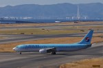 mild lifeさんが、関西国際空港で撮影した大韓航空 737-9B5の航空フォト(飛行機 写真・画像)