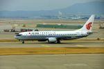 まいけるさんが、仁川国際空港で撮影した中国国際航空 737-86Nの航空フォト(飛行機 写真・画像)