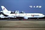 tassさんが、成田国際空港で撮影したJALウェイズ DC-10-40の航空フォト(飛行機 写真・画像)