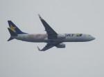 いねねさんが、中部国際空港で撮影したスカイマーク 737-86Nの航空フォト(飛行機 写真・画像)