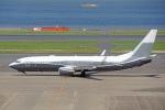 ちゃぽんさんが、羽田空港で撮影したACMエア・チャーター 737-8LX BBJ2の航空フォト(飛行機 写真・画像)