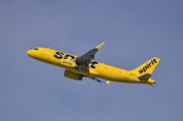 JMBResonaさんが、ロサンゼルス国際空港で撮影したスピリット航空 A320-232の航空フォト(飛行機 写真・画像)