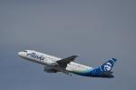 JMBResonaさんが、ロサンゼルス国際空港で撮影したアラスカ航空 A320-214の航空フォト(飛行機 写真・画像)