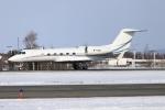 北の熊さんが、新千歳空港で撮影したGlobal Jet Luxembourgの航空フォト(飛行機 写真・画像)