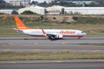 OMAさんが、台湾桃園国際空港で撮影したチェジュ航空 737-8ASの航空フォト(飛行機 写真・画像)