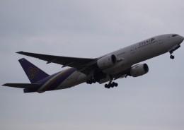 takikoki50000さんが、仙台空港で撮影したタイ国際航空 777-2D7の航空フォト(飛行機 写真・画像)