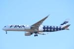 エアさんが、成田国際空港で撮影したフィンエアー A350-941XWBの航空フォト(飛行機 写真・画像)