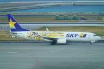 SFJ_capさんが、那覇空港で撮影したスカイマーク 737-8FHの航空フォト(飛行機 写真・画像)