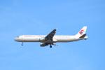 エアさんが、成田国際空港で撮影した中国東方航空 A321-211の航空フォト(飛行機 写真・画像)