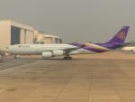 sg-driverさんが、ドンムアン空港で撮影したタイ国際航空 A340-541の航空フォト(飛行機 写真・画像)
