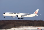 garrettさんが、新千歳空港で撮影した日本航空 A350-941XWBの航空フォト(飛行機 写真・画像)