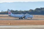 kiraboshi787さんが、長崎空港で撮影した日本航空 737-846の航空フォト(飛行機 写真・画像)