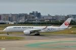 妄想竹さんが、福岡空港で撮影した日本航空 A350-941XWBの航空フォト(飛行機 写真・画像)