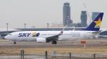 raichanさんが、成田国際空港で撮影したスカイマーク 737-8HXの航空フォト(飛行機 写真・画像)