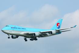 SGR RT 改さんが、成田国際空港で撮影した大韓航空 747-4B5F/SCDの航空フォト(飛行機 写真・画像)