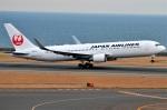 amagoさんが、中部国際空港で撮影した日本航空 767-346/ERの航空フォト(飛行機 写真・画像)