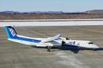 delawakaさんが、釧路空港で撮影したANAウイングス DHC-8-402Q Dash 8の航空フォト(飛行機 写真・画像)