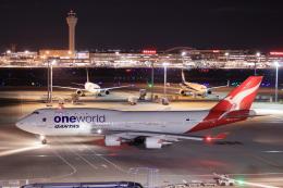 Shin-chaさんが、羽田空港で撮影したカンタス航空 747-438/ERの航空フォト(飛行機 写真・画像)