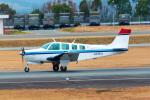 ふくくんさんが、熊本空港で撮影した日本法人所有 A36 Bonanza 36の航空フォト(飛行機 写真・画像)
