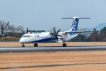 ふくくんさんが、熊本空港で撮影したANAウイングス DHC-8-402Q Dash 8の航空フォト(飛行機 写真・画像)