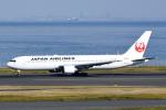 panchiさんが、羽田空港で撮影した日本航空 767-346/ERの航空フォト(飛行機 写真・画像)