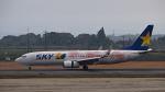オキシドールさんが、鹿児島空港で撮影したスカイマーク 737-86Nの航空フォト(飛行機 写真・画像)