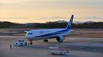 オキシドールさんが、広島空港で撮影した全日空 767-381/ERの航空フォト(飛行機 写真・画像)