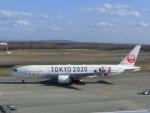 ヒロリンさんが、新千歳空港で撮影した日本航空 777-246の航空フォト(飛行機 写真・画像)