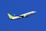 navipro787さんが、宮崎空港で撮影したソラシド エア 737-81Dの航空フォト(飛行機 写真・画像)