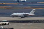 まいけるさんが、羽田空港で撮影したビスタジェット CL-600-2B16 Challenger 605の航空フォト(飛行機 写真・画像)