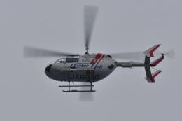 NFファンさんが、厚木飛行場で撮影した朝日航洋 BK117C-2の航空フォト(飛行機 写真・画像)