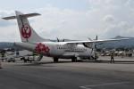 レドームさんが、出雲空港で撮影した日本エアコミューター ATR-42-600の航空フォト(飛行機 写真・画像)