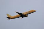 TAKAHIDEさんが、新潟空港で撮影したフジドリームエアラインズ ERJ-170-200 (ERJ-175STD)の航空フォト(飛行機 写真・画像)