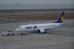 神宮寺ももさんが、神戸空港で撮影したスカイマーク 737-8Q8の航空フォト(飛行機 写真・画像)