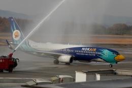 344さんが、広島空港で撮影したノックエア 737-8FZの航空フォト(飛行機 写真・画像)