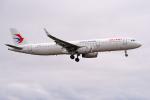 apphgさんが、静岡空港で撮影した中国東方航空 A321-231の航空フォト(飛行機 写真・画像)