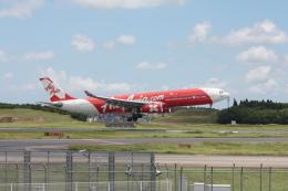 フレッシュマリオさんが、成田国際空港で撮影したインドネシア・エアアジア・エックス A330-343Xの航空フォト(飛行機 写真・画像)