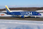 sky77さんが、新千歳空港で撮影したフジドリームエアラインズ ERJ-170-200 (ERJ-175STD)の航空フォト(飛行機 写真・画像)