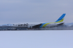 Love Airbus350さんが、旭川空港で撮影したAIR DO 767-33A/ERの航空フォト(飛行機 写真・画像)