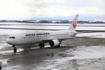 Love Airbus350さんが、旭川空港で撮影した日本航空 767-346/ERの航空フォト(飛行機 写真・画像)