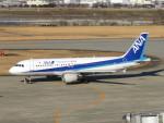 エアキンさんが、富山空港で撮影した全日空 A320-211の航空フォト(飛行機 写真・画像)