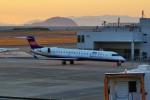 left eyeさんが、松山空港で撮影したアイベックスエアラインズ CL-600-2C10 Regional Jet CRJ-702ERの航空フォト(飛行機 写真・画像)