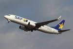 kunimi5007さんが、仙台空港で撮影したスカイマーク 737-81Dの航空フォト(飛行機 写真・画像)