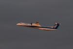 344さんが、福岡空港で撮影したANAウイングス DHC-8-402Q Dash 8の航空フォト(飛行機 写真・画像)